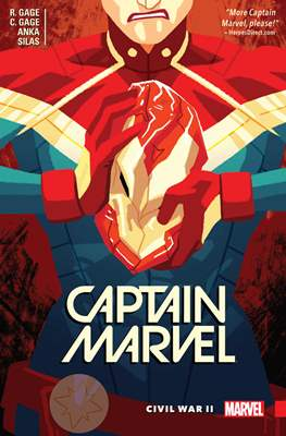Captain Marvel (Vol. 9 2016) (Softcover) #2