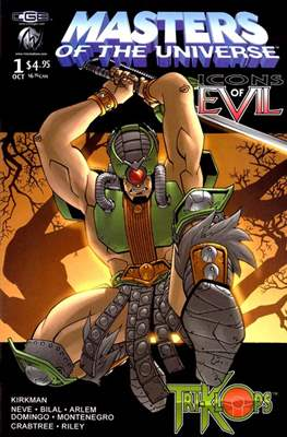 Masters of the Universe: Icons of Evil (Comic Book) #4
