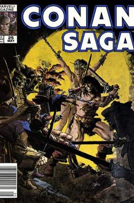 Conan Saga (Comic-book) #25