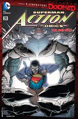 Action Comics Vol. 2 (2011-2016) (Grapa) #31