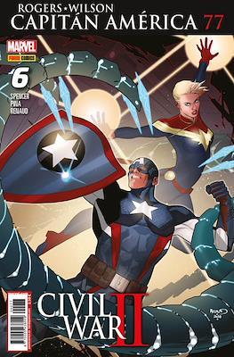 Capitán América Vol. 8 (2011-) (Grapa) #77