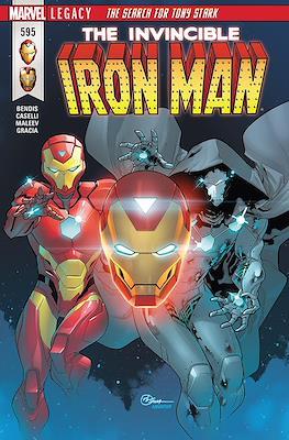 Invincible Iron Man Vol. 4 #595
