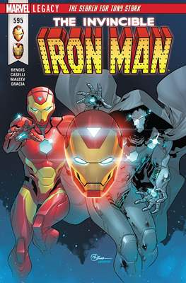 Invincible Iron Man Vol. 4 (Comic Book) #595