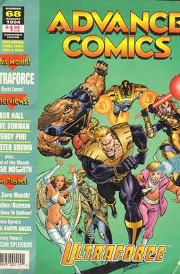 Advance comics (Revista en blanco y negro.) #68