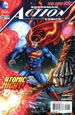 Action Comics Vol. 2 (2011-2016) (Grapa) #22