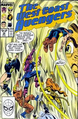 West Coast Avengers Vol. 2 (Comic-book. 1985 -1989) #32