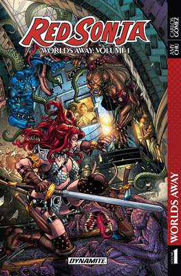 Red Sonja: Worlds Away (2017) (Softcover 140-184 pp) #1
