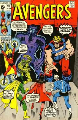 The Avengers Vol. 1 (1963-1996) (Comic Book) #91