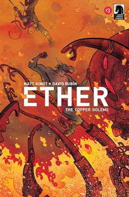 Ether: The Copper Golems (Comic book) #3