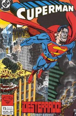 Superman: El Hombre de Acero / Superman Vol. 2 (Grapa 36 pp) #59