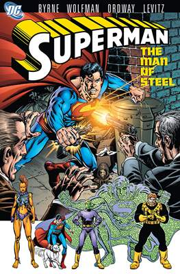Superman: The Man of Steel (Softcover) #4