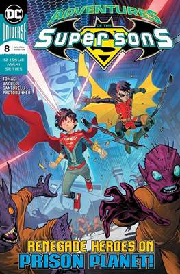 Adventures of the Super Sons (2018-) (Comic Book) #8
