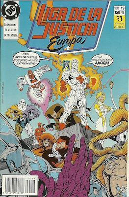 Liga de la Justicia Europa (1989-1992) (Grapa) #19