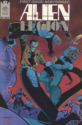 Alien Legion Vol 2 (Comic Book) #1
