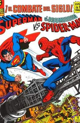 Superman vs el asombroso Spiderman