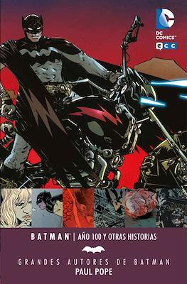 Grandes Autores de Batman: Paul Pope. Batman: Año 100 y otras historias