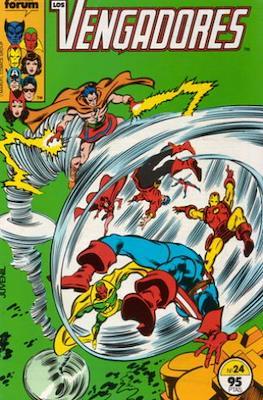 Los Vengadores Vol. 1 (1983-1994) (Grapa) #24