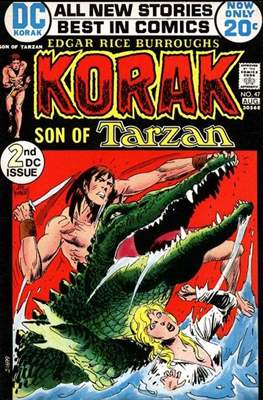 Korak Son of Tarzan / The Tarzan Family (Comic-book. 32 pp) #47