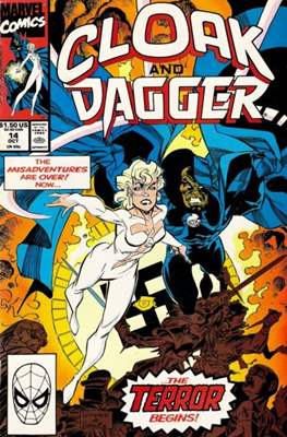 Cloak and Dagger Vol. 3 (1988-1991) (Comic-book.) #14