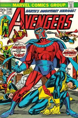 The Avengers Vol. 1 (1963-1996) (Comic Book) #110
