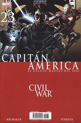 Capitán América Vol. 7 (2005-2011) (Grapa) #23