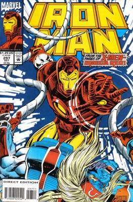Iron Man Vol. 1 (1968-1996) (Comic book) #297