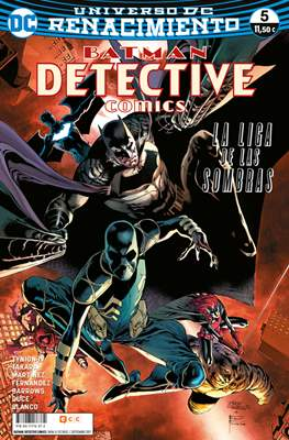 Batman: Detective Comics. Renacimiento (Rústica 72 pp) #5