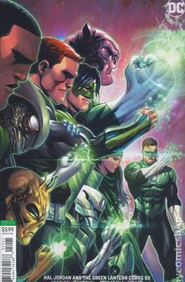 Hal Jordan and the Green Lantern Corps (Vol. 1 2016-2018 Variant Cover) (Comic Book) #50