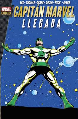 Capitán Marvel. Marvel Gold (Rústica con solapas.320 páginas.) #1