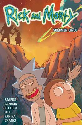 Rick and Morty (Rústica 128 pp) #5