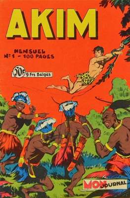 Akim (Grapa, 100 pp, bimensual, b/n) #1