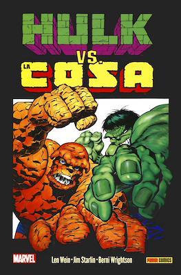 Hulk vs. La Cosa: Grandes tortas. 100% Marvel HC