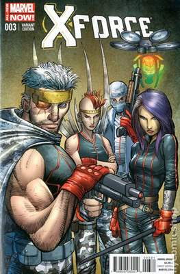 X-Force Vol. 4 (2014-2015 Variant Cover) (Comic Book) #3