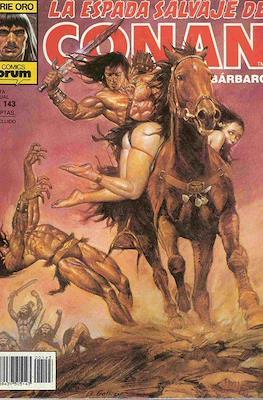 La Espada Salvaje de Conan. Vol 1 (1982-1996) (Grapa. B/N.) #143