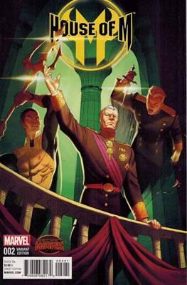 House of M Vol. 2 (Variant Cover) #2