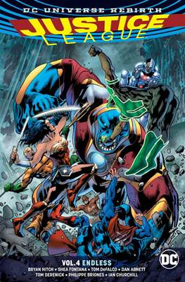 Justice League (2016-...) (Softcover) #4