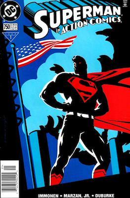 Action Comics Vol. 1 (1938-2011; 2016-) (Comic Book) #750