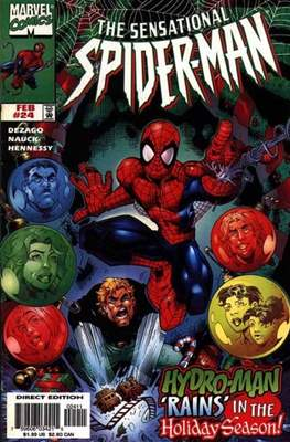 The Sensational Spider-Man (1996-1998) (Comic Book) #24