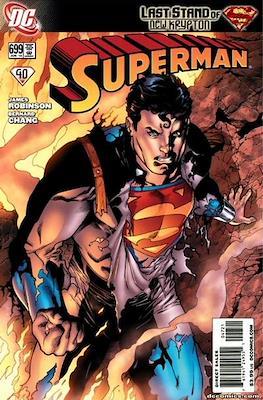 Superman Vol. 1 / Adventures of Superman Vol. 1 (1939-2011) (Comic Book) #699