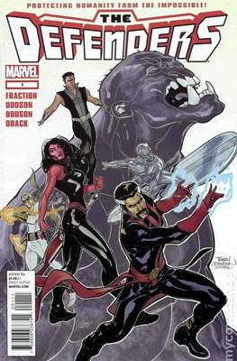 The Defenders vol. 4 (2011-2012) (Grapa) #1