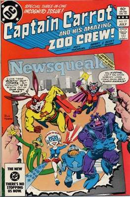 Captain Carrot and his amazing Zoo Crew (Comic Book) #17