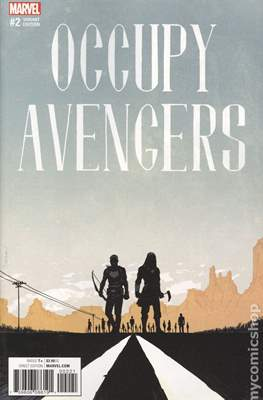 Occupy Avengers (2016-2017 Variant Covers) (Comic Book) #2