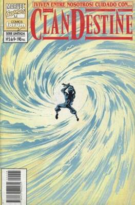 ClanDestine (1995-1996) (Grapa. 24 páginas.) #5