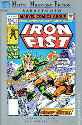 Marvel Milestone Edition: Iron Fist 14