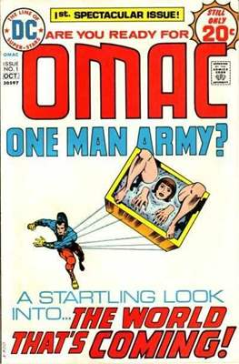 OMAC Vol 1 (Comic Book. 1974 - 1975) #1