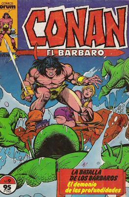 Conan el Bárbaro (1983-1994) (Grapa. 19x27. 36/32/24 páginas. Color.) #9