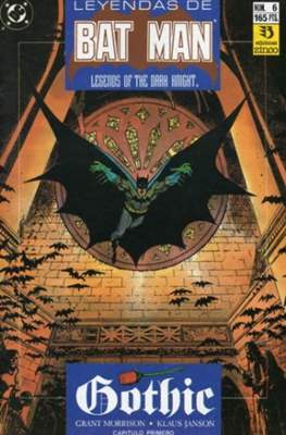 Leyendas de Batman. Legends of the Dark Knight (Grapa) #6