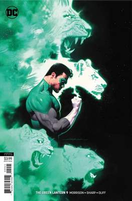 The Green Lantern Vol. 6 (2018-... Variant Cover) (Comic Book) #9