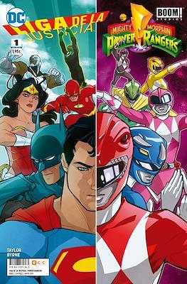 Liga de la Justicia / Mighty Morphin Power Rangers #1
