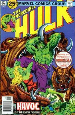 The Incredible Hulk Vol. 1 (1962-1999) (Comic Book) #202